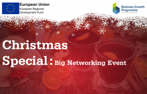 Cheshire and Warrington Business Growth Programme - Christmas Event on Wednesday 11 December